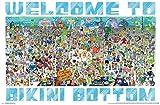 Trends International Nickelodeon Spongebob-Every Character Ever 19 Clip Bundle Wall Poster, 22.375' x 34', Multi