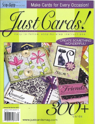 (Just Cards Magazine (Vol. 30) (Summer 2013) )