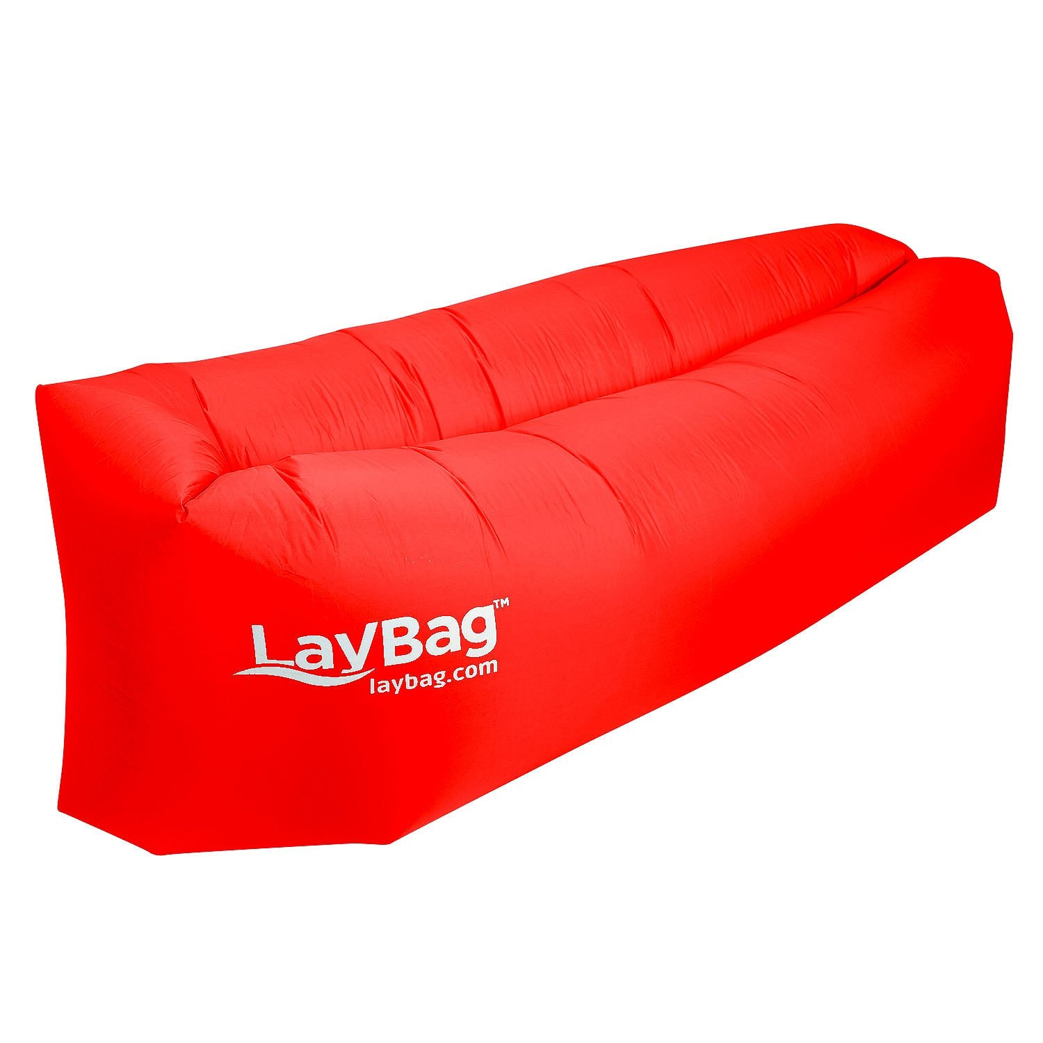 LayBag Inflatable Air Lounge, Ruby Red