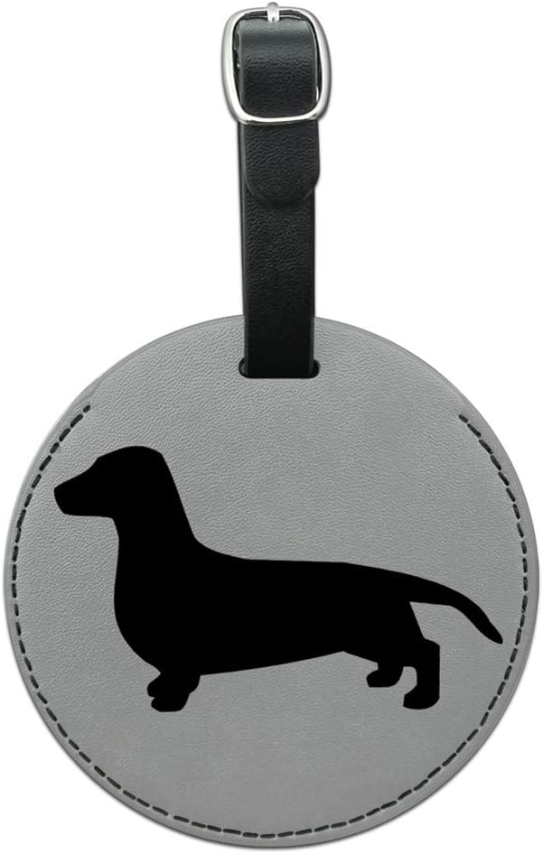 2 Pack Luggage Tags Dachshund Wiener Dog Cruise Luggage Tag For Suitcase Bag Accessories