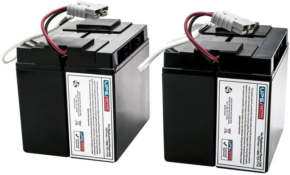 APC Smart UPS 3000 SU3000I Compatible Replacement Battery Set by UPSBatteryCenter