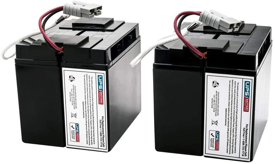 APC Smart-UPS XL 2200VA RM 5U SUA2200RMXLNET Compatible Replacement Battery Pack by UPSBatteryCenter