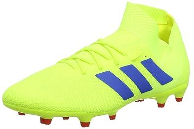 detailed pictures 1421d 3c974 adidas Nemeziz 18.3 FG, Chaussures Homme, Jaune Solar Yellow Football  Blue Active