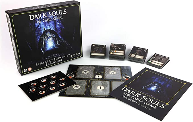 Steamforged Games SFDSTCG003 Dark Souls: The Card Game-Seekers of Humanity Expansion, Mixed Colours: Amazon.es: Juguetes y juegos