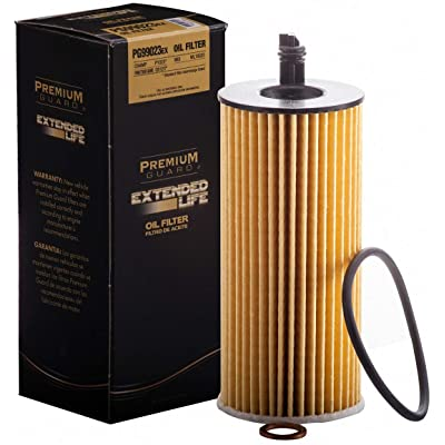 PG Oil Filter, Extended Life PG99023EX  Fits 2015 BMW 740Ld xDrive, 2014-16 535d xDrive, 535d, 2014-18 328d xDrive, 328d, 2020-18 740e xDrive, 2020 Porsche Cayenne, 911, 2020-19 Panamera: Automotive