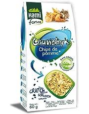 Friandises pour Lapin, Chips de pommes, 60g - HAMIFORM