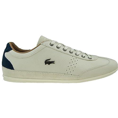 Uomo Nero Misano 34 Sneaker Scarpe In Grandi Lacoste Taglie WHYID2E9