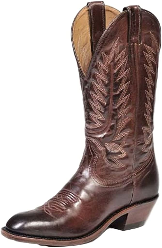 Boulet Men's Dress Cowboy Boot Snip Toe