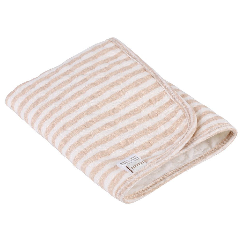 Baby Changing Pad, Portable Changing Mat 100% Cotton Diaper Changing Padding Multi-function Nappy Bedding Changing Cover Pad(L-70x105cm)