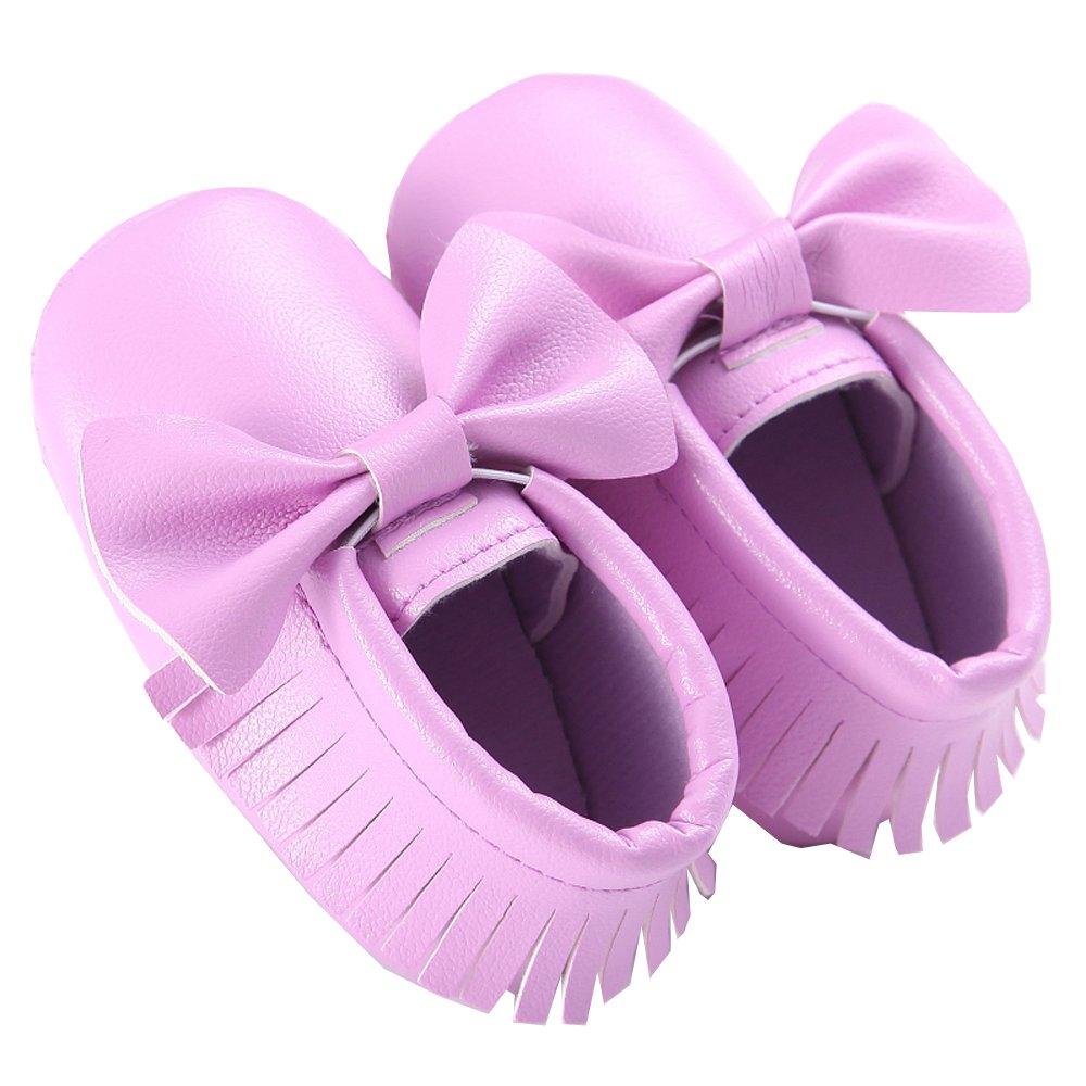 WAYLONGPLUS Prewalker Infant Anti-skid Soft Shoes Toddler Sneaker Light Yellow Size 13