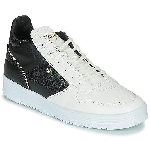 wholesale dealer classic fit designer fashion Cash Money CMS72-LUXURY Trainers Men White/Black Hi top ...