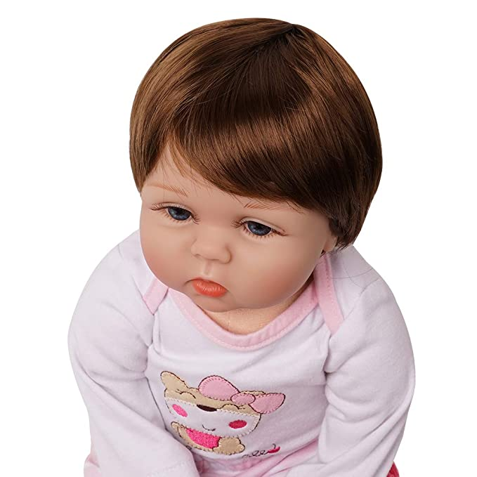 Amazon.com: Vida real muñeca bebé niña silicona traje de ...