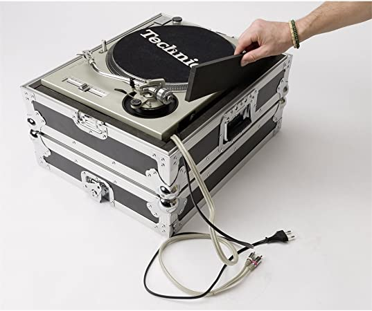 Multi Format Turntable Case Flightcase para Tocadiscos Come ...