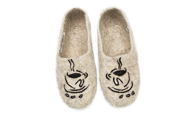 Felt Felted Wool Slippers Clogs House Shoes Mules Woman S