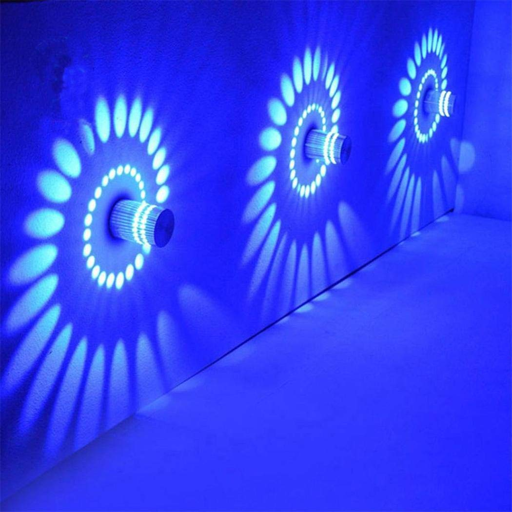 Amazon.com: OYTRO - Lámpara de pared LED de 3 W con espiral ...