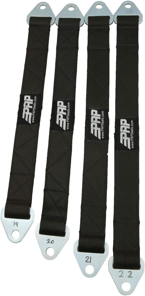 PRP Seats F26 26 Inch Quad Wrap Limit Strap Black