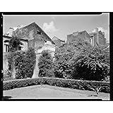 Photo: 720 Saint Peter Street, gardens, New Orleans, Louisiana, LA, Architecture, 1937 1 . Size: 8x1