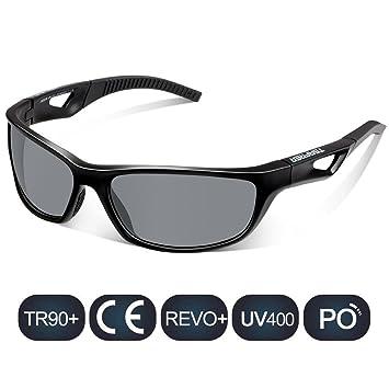 TSAFRER ciclismo Gafas de sol polarizadas Unisexo, gafas deportivas para hombres y mujeres, UV400, Tr90 Ligero irrompibles marco: Amazon.es: Deportes y aire ...