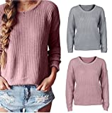 Hanican Women Sweater Fall Winter Long Sleeve Tops