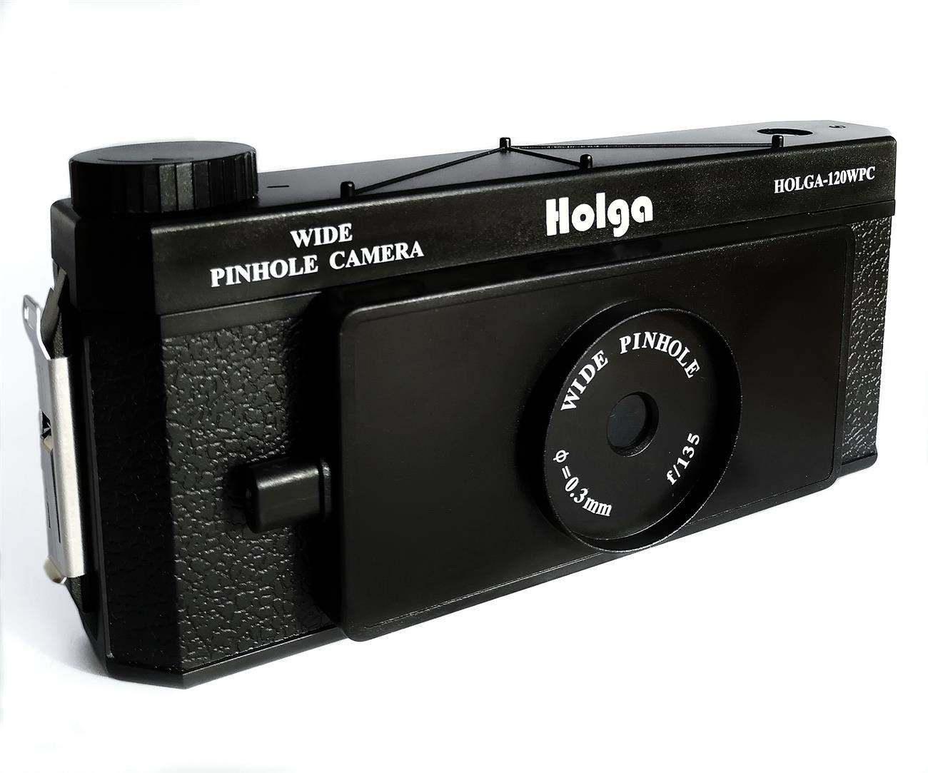 Holga 120 WPC Panoramic Pin Hole Camera Wide Format Film Lomo Camera Black by Holga