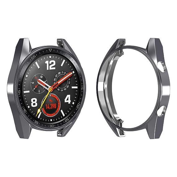 Amazon.com: Chofit PC Case Compatible Huawei Watch GT, Slim ...