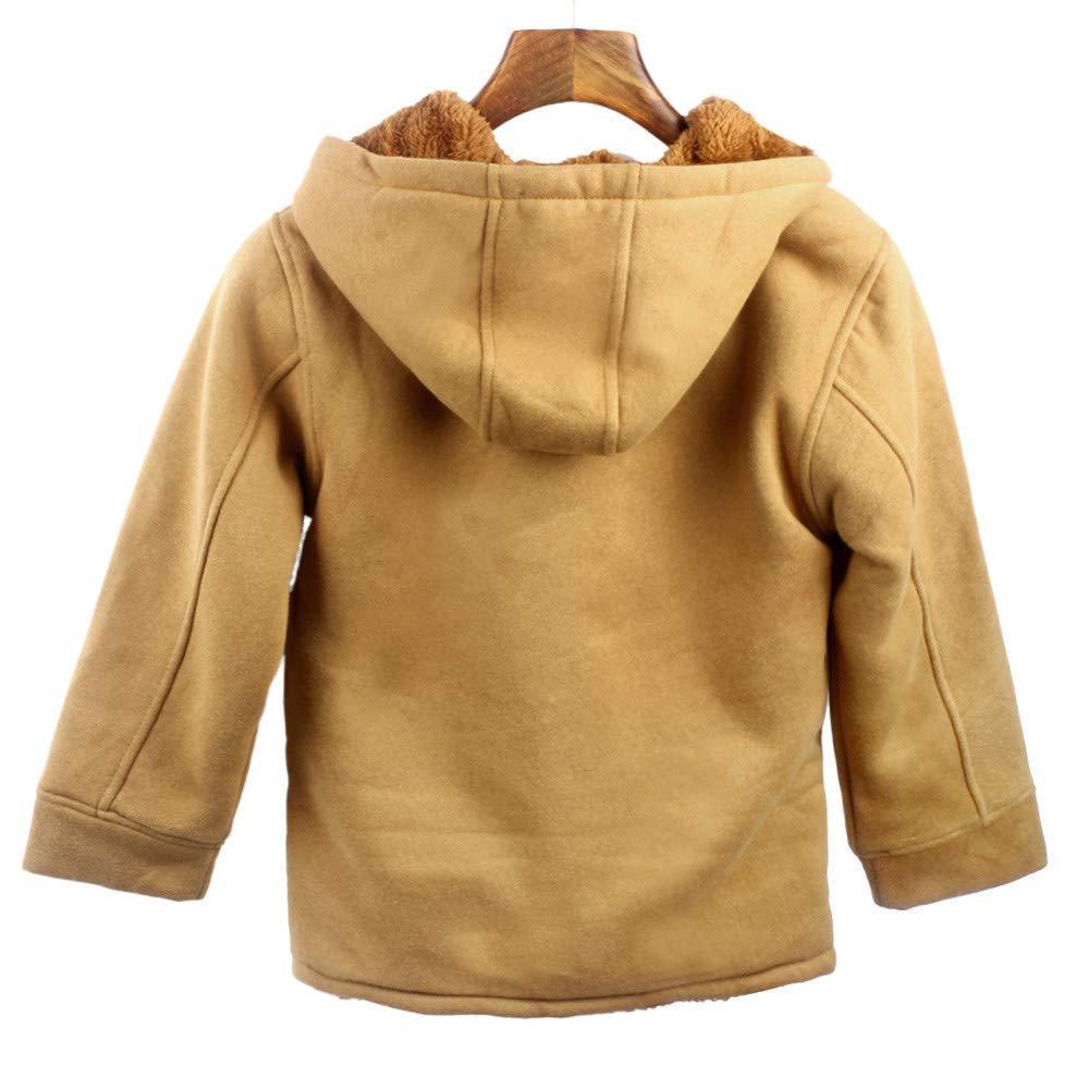 a81b24090 Amazon.com   Unisex Baby Winter Coats Fleece Jackets Duffle Zipper ...