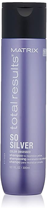 Matrix Total Results So Silver Color Depositing Purple Shampoo for Neutralizing Yellow Tones, 10.1 Fl. Oz. best purple shampoos