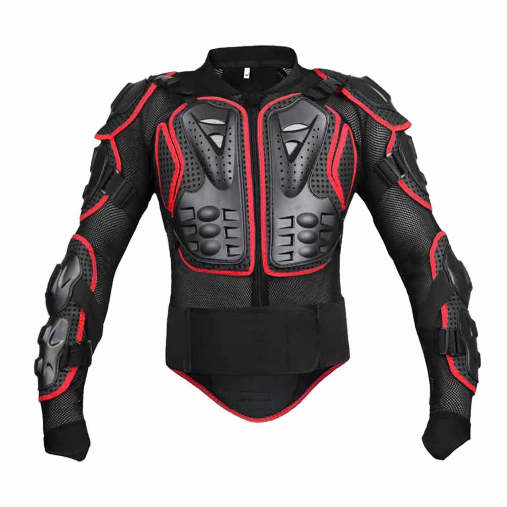 Wishwin Professional Motorcycle Jacket Armor Full Body Shoulder Protective Gear Cool Exciting Off-Road Racing Adult