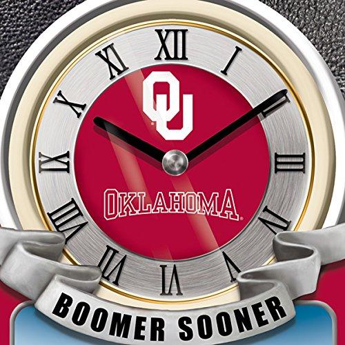 University Of Oklahoma Sooners College Football Cuckoo Clock: Bradford Exchange by The Bradford Exchange by Bradford Exchange (Image #2)