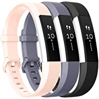 ATUP Bands Compatible for Fitbit Alta HR Bands and Fitbit Alta Band, Replacement Wristband Sport Band Strap for Fitbit Alta HR/Fitbit Alta Small Large
