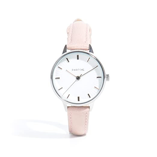 Parfois - Reloj Light Pink - Mujeres - Tallas M - Rosa Claro: Amazon.es: Relojes