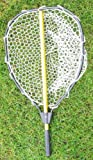 "Collapsable Aluminum landing net with rubber net (Total length:47"";Hoop Size: 20x16"")"