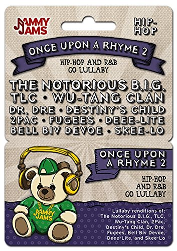 Music Download Card - Jammy Jams Once Upon A Rhyme 2 Hip-Hop and R&B Go Lullaby Download Card