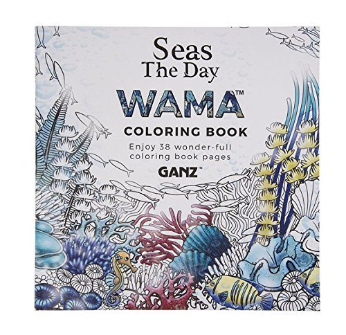 WAMA Seas The Day Adult Coloring Book Ganz