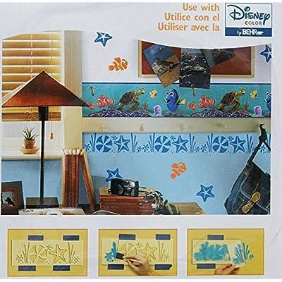 Disney Pixar Finding Nemo Paint Stamps & Stencil Kit: Home Improvement