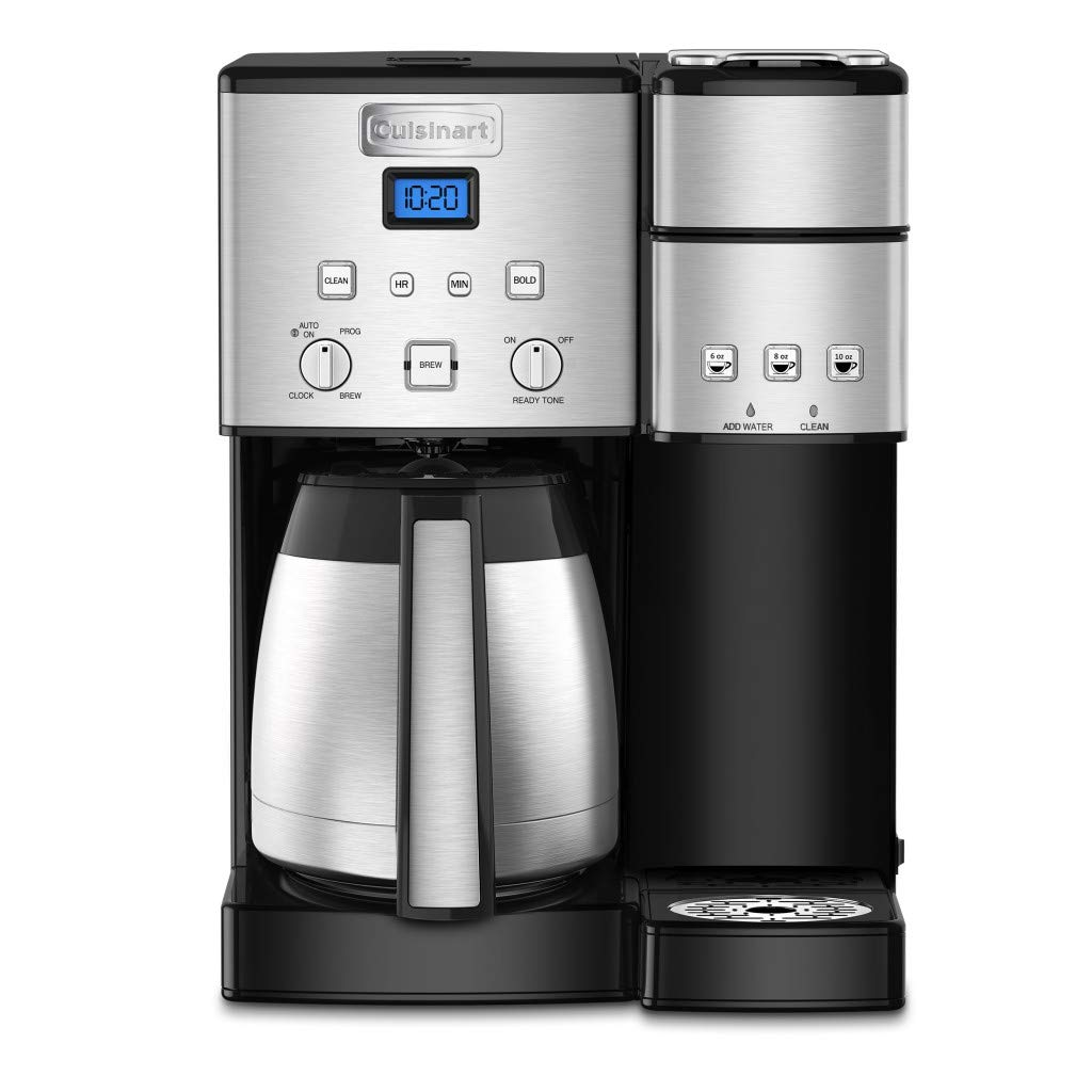 Cuisinart SS-20 Coffee Center 10-Cup Thermal Single-Serve Brewer coffeemaker Silver by Cuisinart (Image #3)