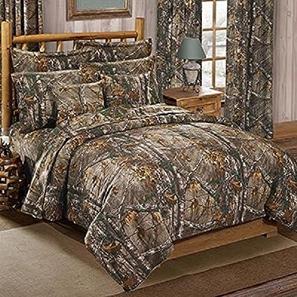 Amazon.: Realtree XTRA CAMO 3 Piece King Size Comforter Set