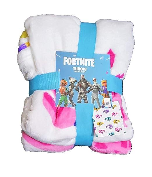Fortnite Primark Licensed Kids Kids Supersoft Manta de Cama ...