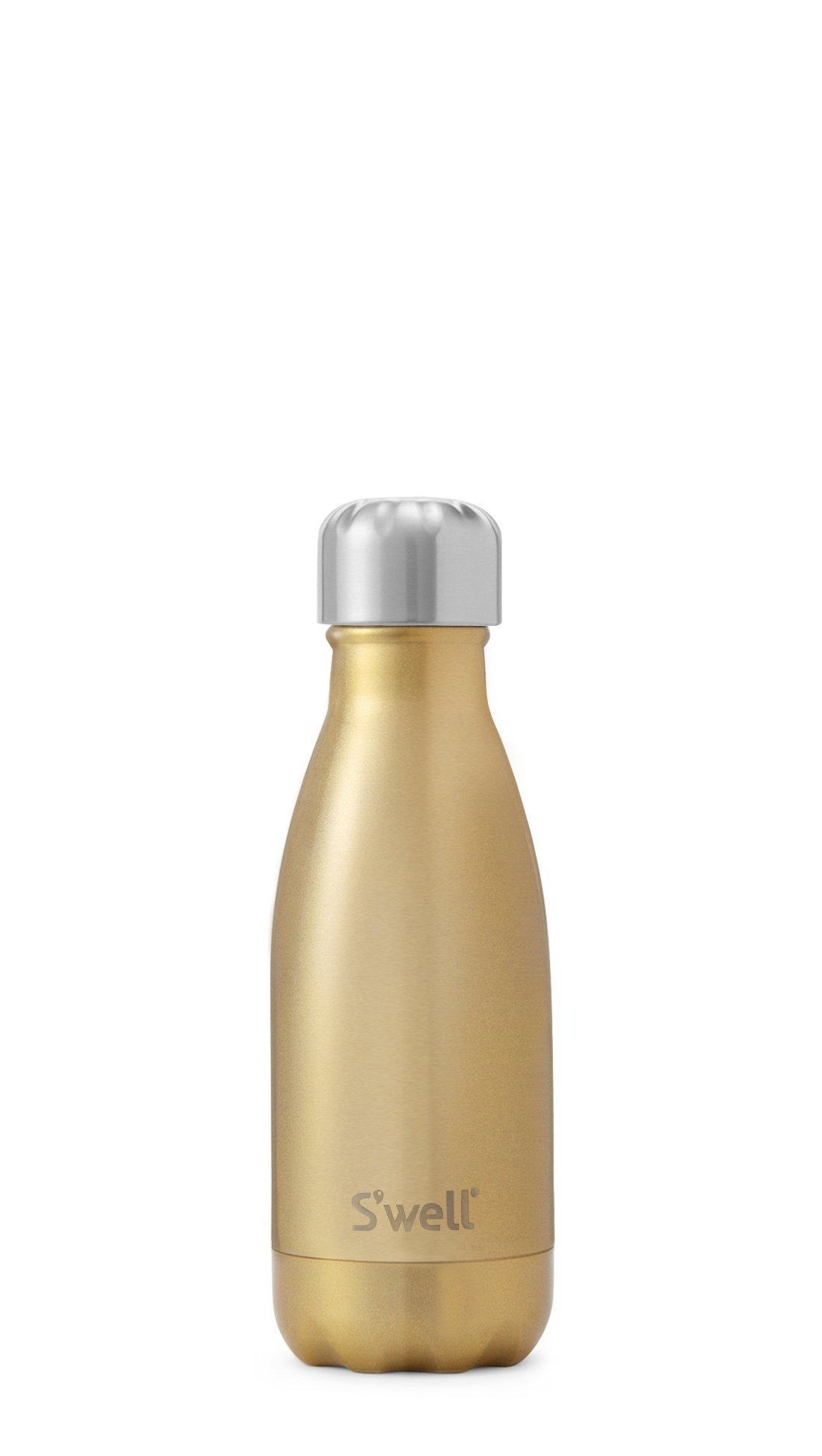 S'well Vacuum Insulated Stainless Steel Water Bottle, 9 oz, Sparkling Champagne