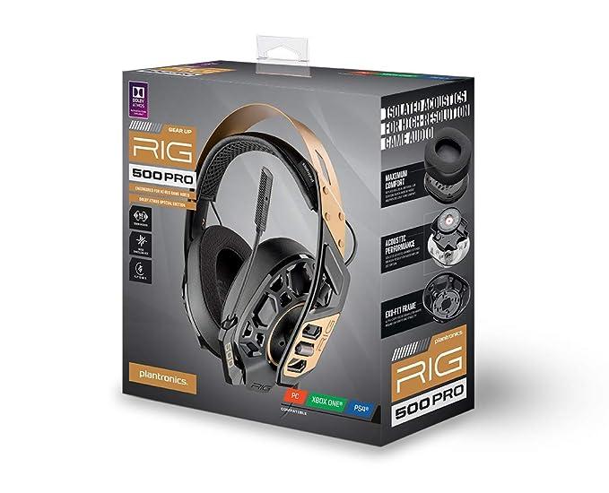 Amazon.com: RIG 500 PRO (Juegos Electrónicos//PS4 ...