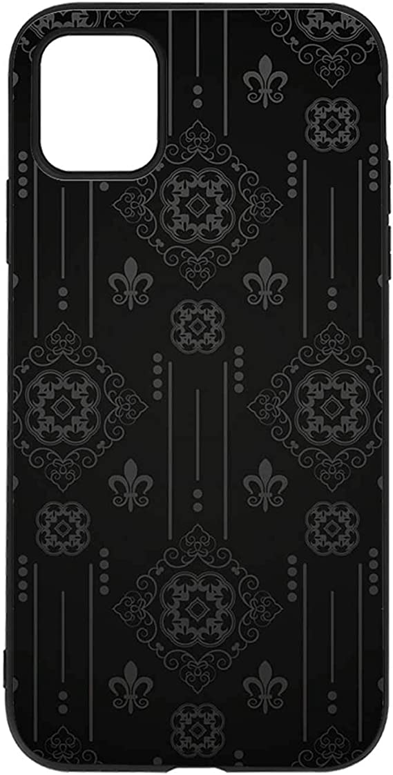 Retro Wallpaper Old Background For Design Black Iphone 11 Case 062928 Compatible With Iphone 11 Amazon Ca Cell Phones Accessories