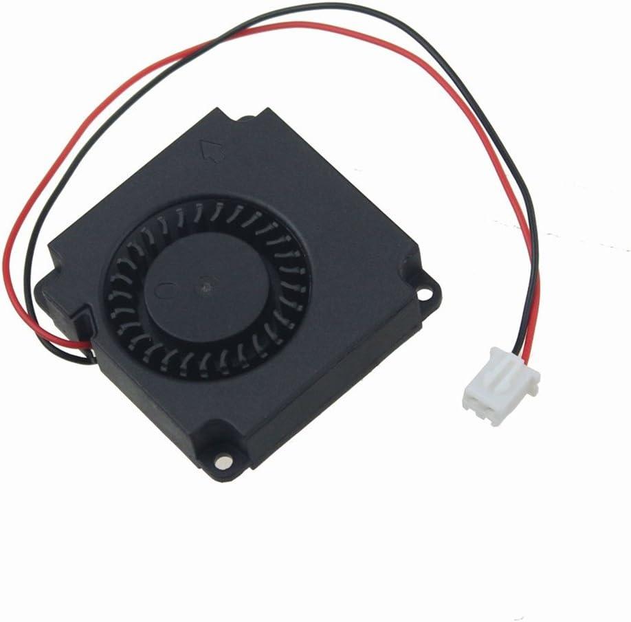 12 V 0.1 A 2pines 40 x 40 x 10 mm 4010 Turbo DC sin escobillas ventilador de refrigeración del ventilador para 3d impresora piezas