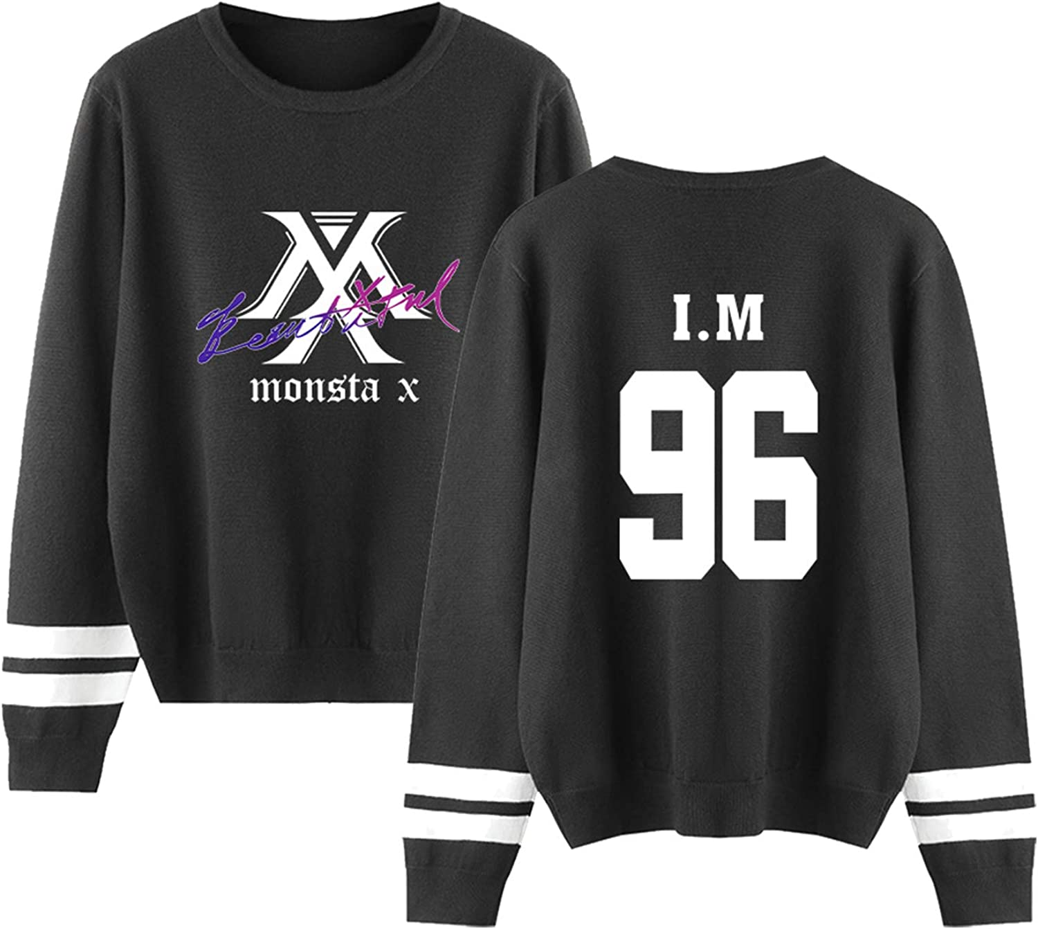 Xkpopfans Kpop Monsta X Hoodie New Album Sweatshirt Shownu I.M Minhyuk Cardigan Sweater