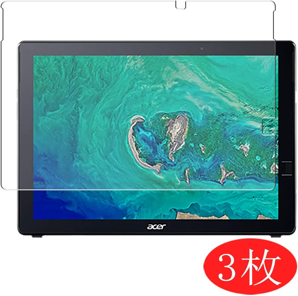 """【3 Pack】 Synvy Screen Protector for Acer Switch 7 SW713-51GN / SW713-51GNP 13.5"""" TPU Flexible HD Film Protective Protectors [Not Tempered Glass]"""