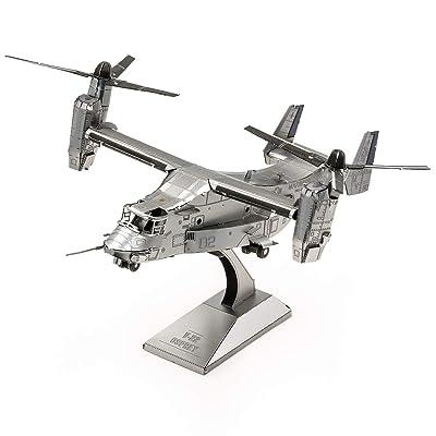 Fascinations Metal Earth V-22 Osprey 3D Metal Model Kit: Toys & Games