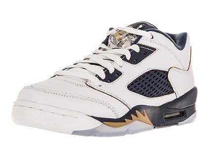 Amazon.com: Nike, Jordan Kids Air, 5 retro, (GS) tenis para ...