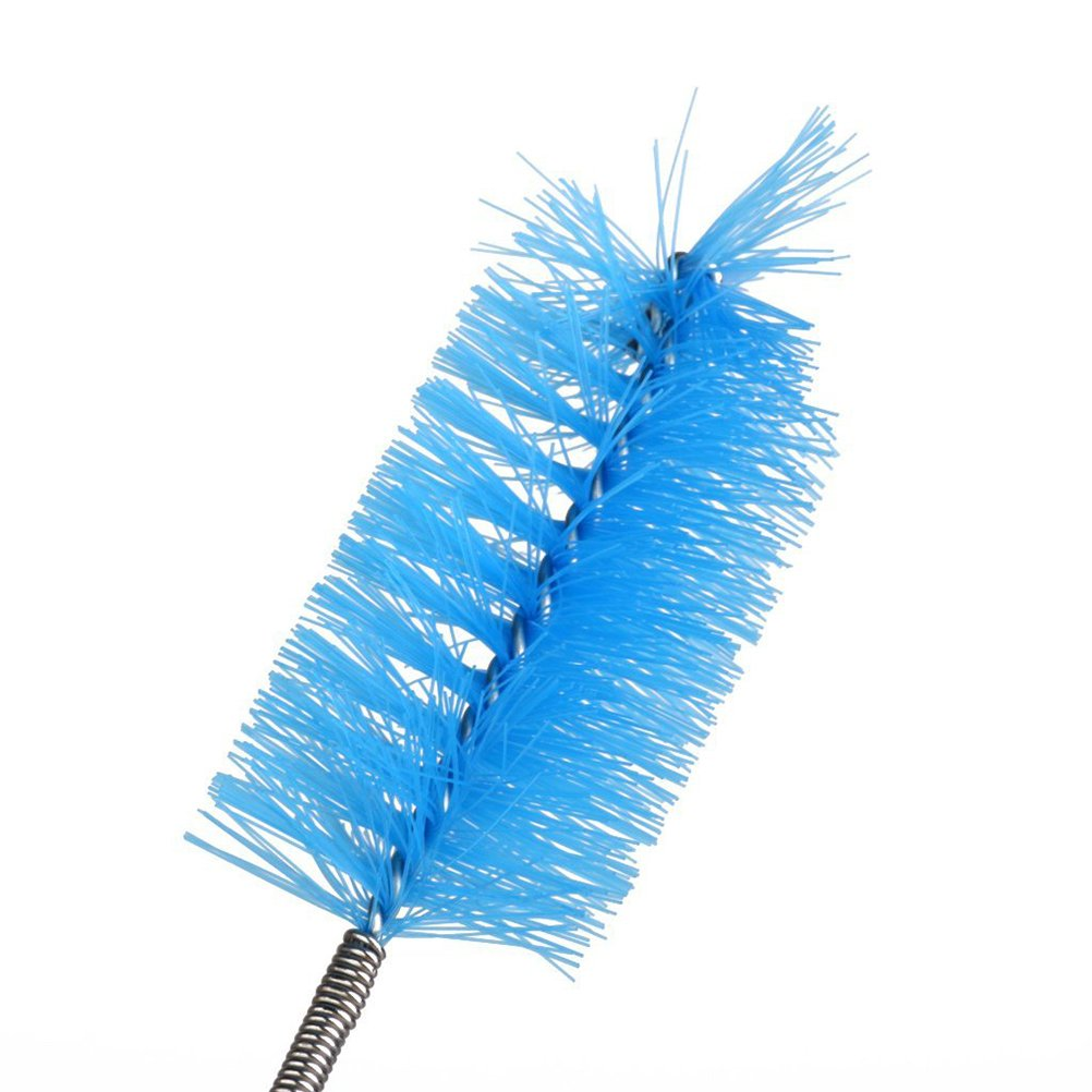 61 UEETEK Pulgadas Acuario Cepillo de Limpieza Cepillo Inoxidable Recipiente Flexible Filtro Tubo Manguera para Pecera