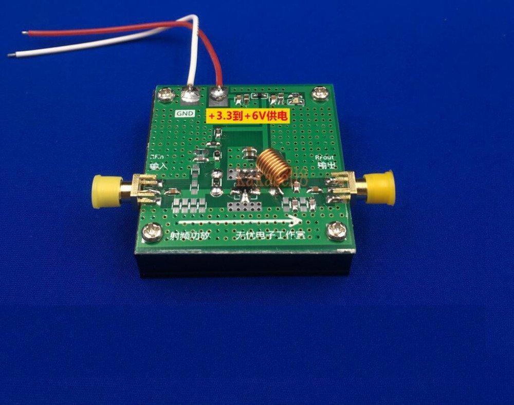 BELONG BLT53A 433M power broadband 2W RF power amplifier high gain with heat sink by BELONG