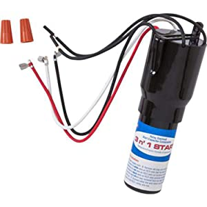 RCO410 3-in-1 Hard Start Capacitor Kit for Freezer & Refrigerator Compressors by PartsBroz - Replaces Part Numbers TJ90RCO410, AP4503017, 600-410, ERP410, HS410, RC0410, RCO-410, RCO410