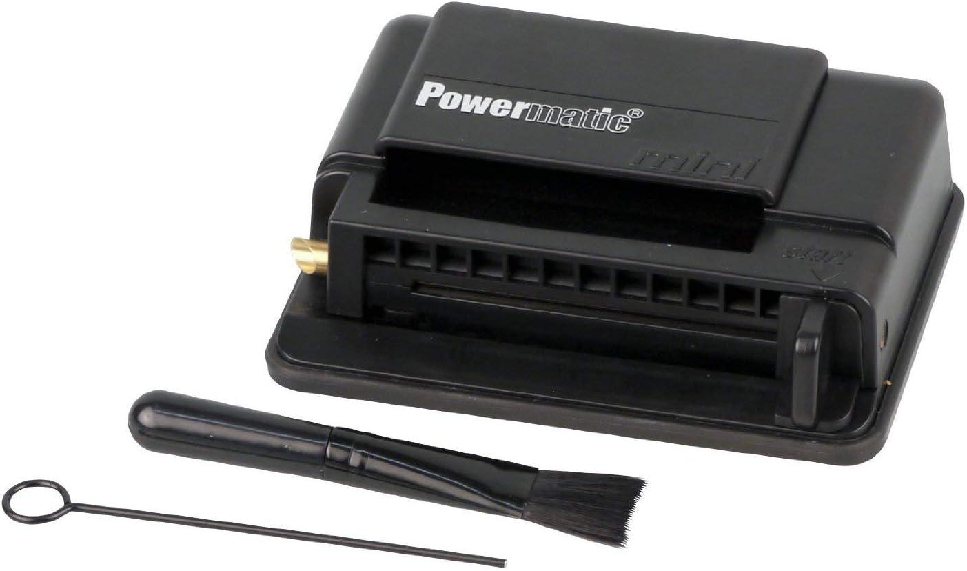 M&M MM 16941, Powermatic Mini Hand Tamping Machine, Cigarette Tamping Machine, Plastic, Black, 10 x 10 x 5 cm